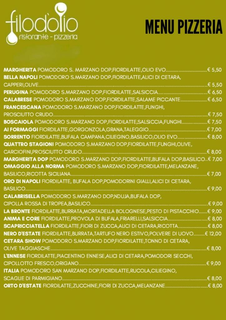 FORMATO MENU_pizzeria